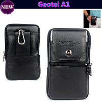 Luxury Genuine Leather Carry Belt Clip Pouch Waist Purse Case Cover For Geotel A1 4 5inch