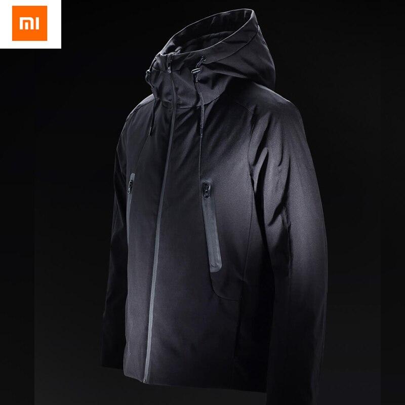 Xiaomi Youpin 90 Points Hot температурный контроль пуховик с зарядкой от 40 до 50 градусов Цельсия
