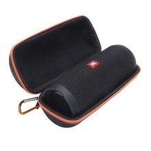 Estojo portátil de eva para viagem, capa protetora de eva para jbl flip 4 flip4 caixa de som portátil para alto falante