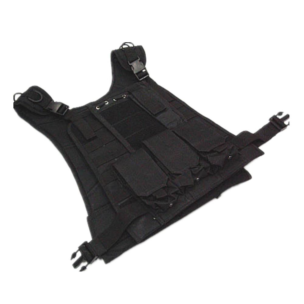 US Marine Assault Tactical Molle Plate Carrier Vest BK CB vest (2)