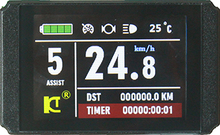 Ebike 24 В 36 В 48 В Дисплей интеллектуальные KT ЖК-дисплей 8 H Управление Панель Электрический велосипед Запчасти управление;