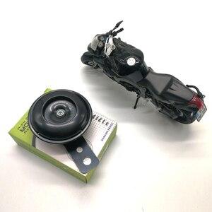 Image 3 - 2020 คุณภาพสูง 105dB รถจักรยานยนต์โมโนโฟนิก Horn สกูตเตอร์ Bracket สำหรับรถจักรยานยนต์ไฟฟ้าจักรยานสีดำ