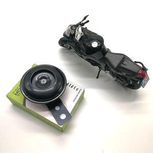 Image 3 - 2020 wysokiej jakości 105db motocykl monofoniczny róg skuter uchwyt do motocykla rower elektryczny czarny