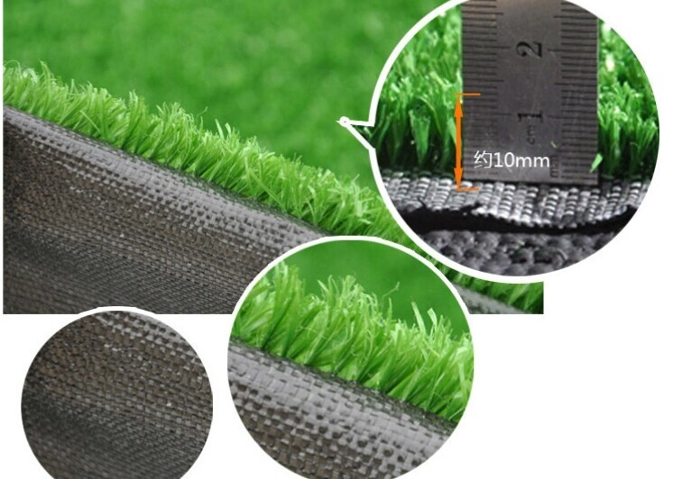 10 Mm Green Color Synthetic Grass  For Roofing