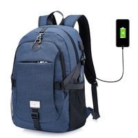 Multifunction USB Charging Men Laptop Backpacks For Teenager Fashion Male Mochila Leisure Travel Backpack Women Bag
