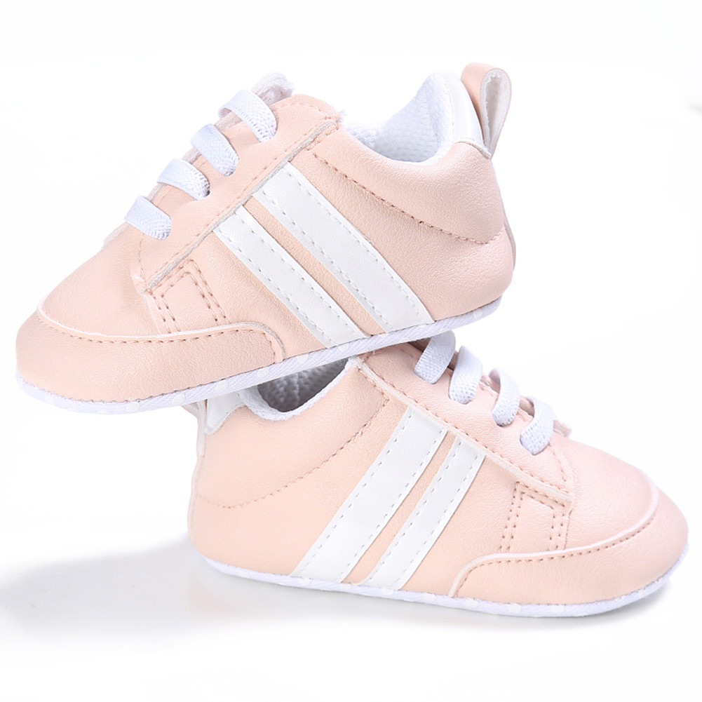 Newborn Baby Sports Shoes Toddler Infant Kids Girl Boy Soft Sole Sneakers PU Leather Crib Baby Shoes Footwear 0-18M