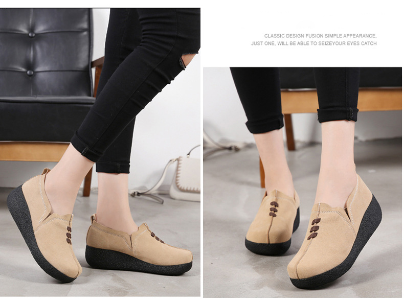 LL 3022-2019 Spring Autumn Women Wedge Shoes-13