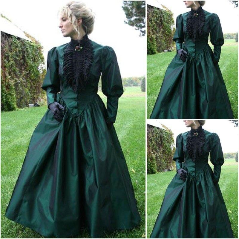 SC 207 Victorian Gothic Vintage font b Dress b font Halloween Theater Movie font b dresses