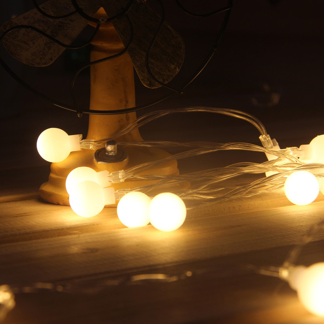 christmas led fairy string lights battery operated festoon light bulbs for home wedding holiday xmas tree