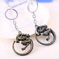 Чужеродные v Хищник Keychain can Drop-доставка Металлический Ключ с Кольца Для Подарка Chaveiro брелок Ювелирные Изделия YS10881