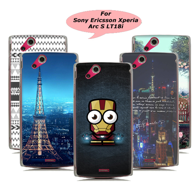 premium selection cd0a6 02b29 US $10.98 |CRYSTAL CLEAR HARD BACK CASE COVER FOR Sony Ericsson Xperia Arc  S LT18i-in Half-wrapped Case from Cellphones & Telecommunications on ...