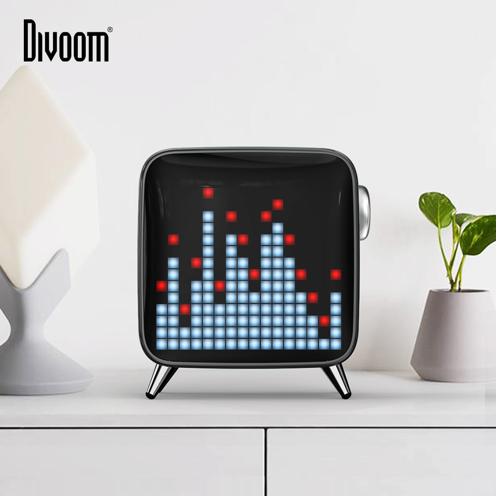 Divoom Tivoo Max Pixel Art Bluetooth Wireless Speaker with 2.1 Audio System 40W Output Heavy Bass App control for IOS & Android-in Portable Speakers from Consumer Electronics on Aliexpress.com   Alibaba Group