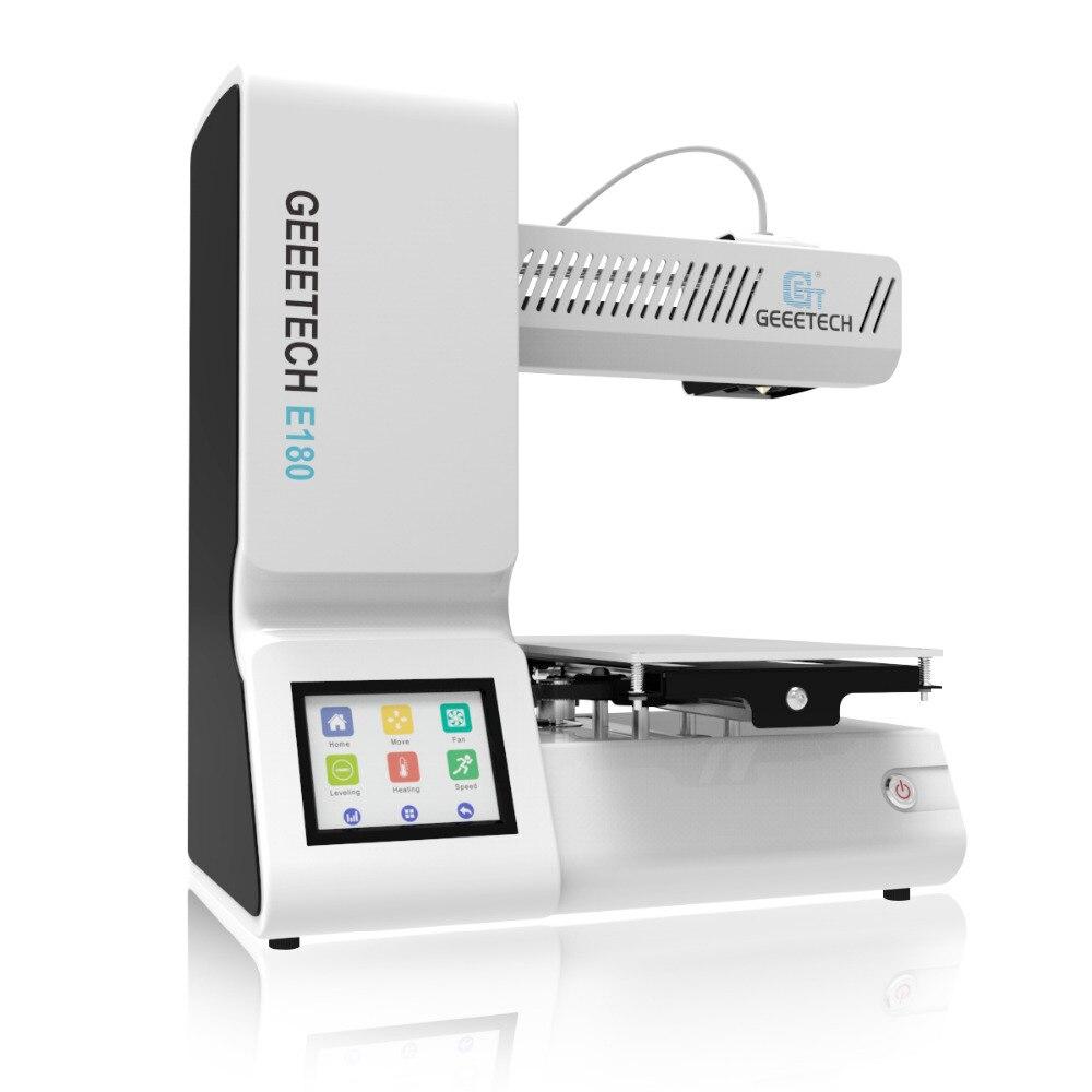 Geeetech Open Source Haute Précision 3D Imprimante E180 Wifi Connectivité Full Color Touch Écran 1.75mm 0.4 m Date 3d imprimantes