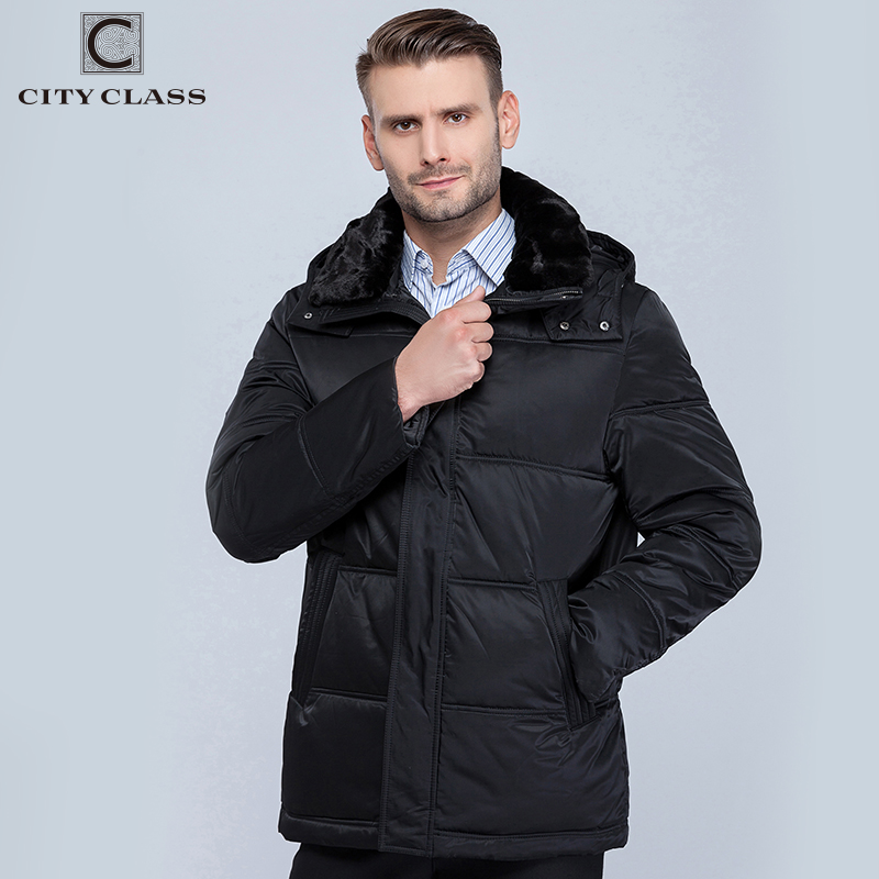 Erkek Kıyafeti'ten Parkalar'de ŞEHIR SıNıF 2019 Kış Ceket Ceket Erkekler için Yeni Yeni Yeni Kalın Sıcak Aşağı Rahat Standı Yaka Çıkarılabilir Kapşonlu Palto 6581'da  Grup 1