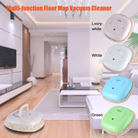 Intelligent USB Chargable Cleaning Robot Machine Sweeping Mop Home Bed Table Cleaner Movable Cleaning Dry Wet