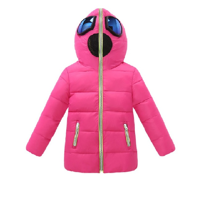 2017 Children Winter Parkas For Girls Snow Suits Kids Duck Down Coat And Jackets Spideman Red Xmas Jacket Boys With Glasses Hood