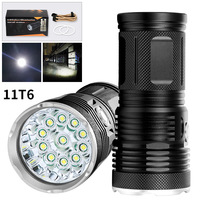 3 Gears Handheld Portable CREE T6 Led Flashlight 18650 Small LED Torch Work led Light Outdoor Hunting Camping Lanterna Lampe