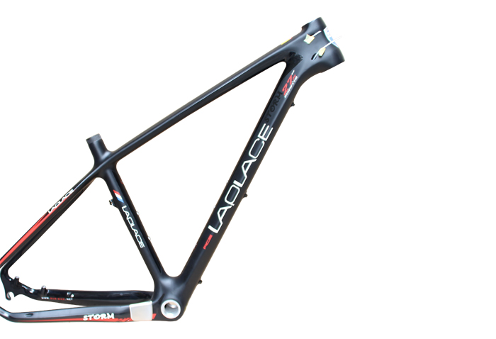 EMS SHIPPING LAPLACE MTB high-quality carbon fiber mountain bike frame carbon frame cadre carbone ems shipping 27.5 inch