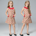 Girls New Arrival Dresses Brand Fashion Lace Bowknot Pocket Princess Beautiful Kids Girl Apparel