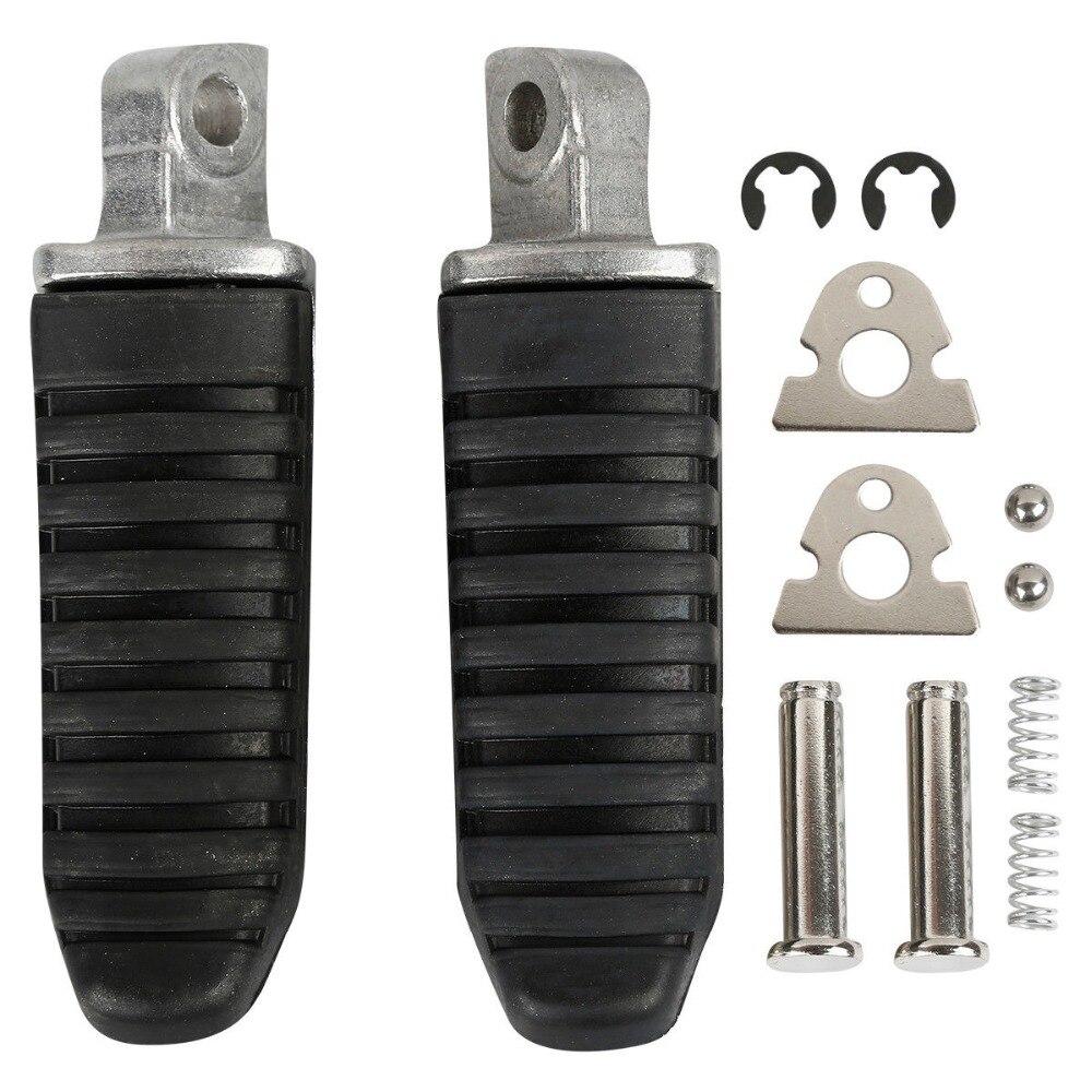 New Black Aluminum Rear Foot Pegs Footrest Fit For Suzuki Hayabusa GSX1300 R GSX 650 GSF1250 08-12 11 2010 09