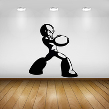Vinyl Wall Sticker Cartoon Megaman X4 Mega Man and Zero Wall Decoration Rockman Wall Stickers For