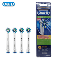 Oral B Brush Heads EB50 4 Cross Action Replaceable Toothbrush Heads Teeth Whitening For Electric Toothbrush