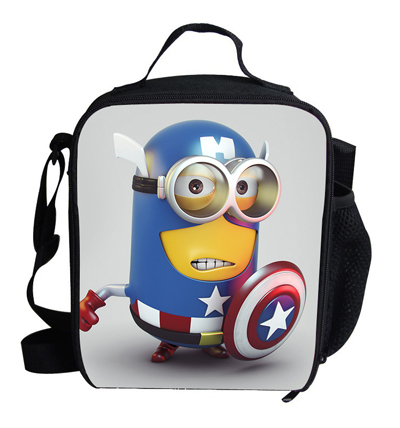 292382807c1e 2015 Popular Cartoon Characters Despicable Me 2 Minion Bags For Kids  Insulated Lunch Bags Minions Bag Children Boys Girls