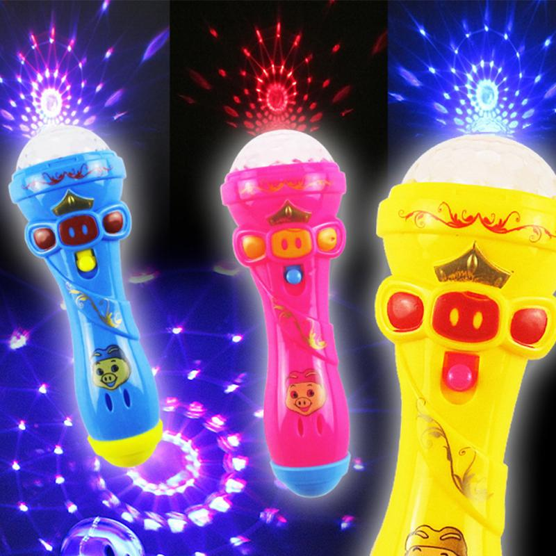 Creative Children Luminous Toys Singing Funny Gift Music Toy Flash Sticks Toys