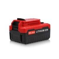 20 V Max 5000 mAh 5.0Ah Lithium-ionen Akku für Porter Cable PCC685L PCC680L PCC681L 4000 mAh