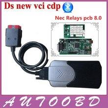 2015. R3 реле nec Чип! автоматический Диагностический Инструмент TCS CDP PRO с Bluetooth Работает на старых и новых автомобилей Автомобили/Грузовики