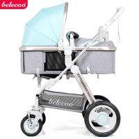 Luz carrinho de bebê belecoo marca carrinho de bebê carrinho criança carrinho de mão luz do carro do bebê alta paisagem da ue carrinhos|light baby stroller|carriage baby strollers|baby stroller -