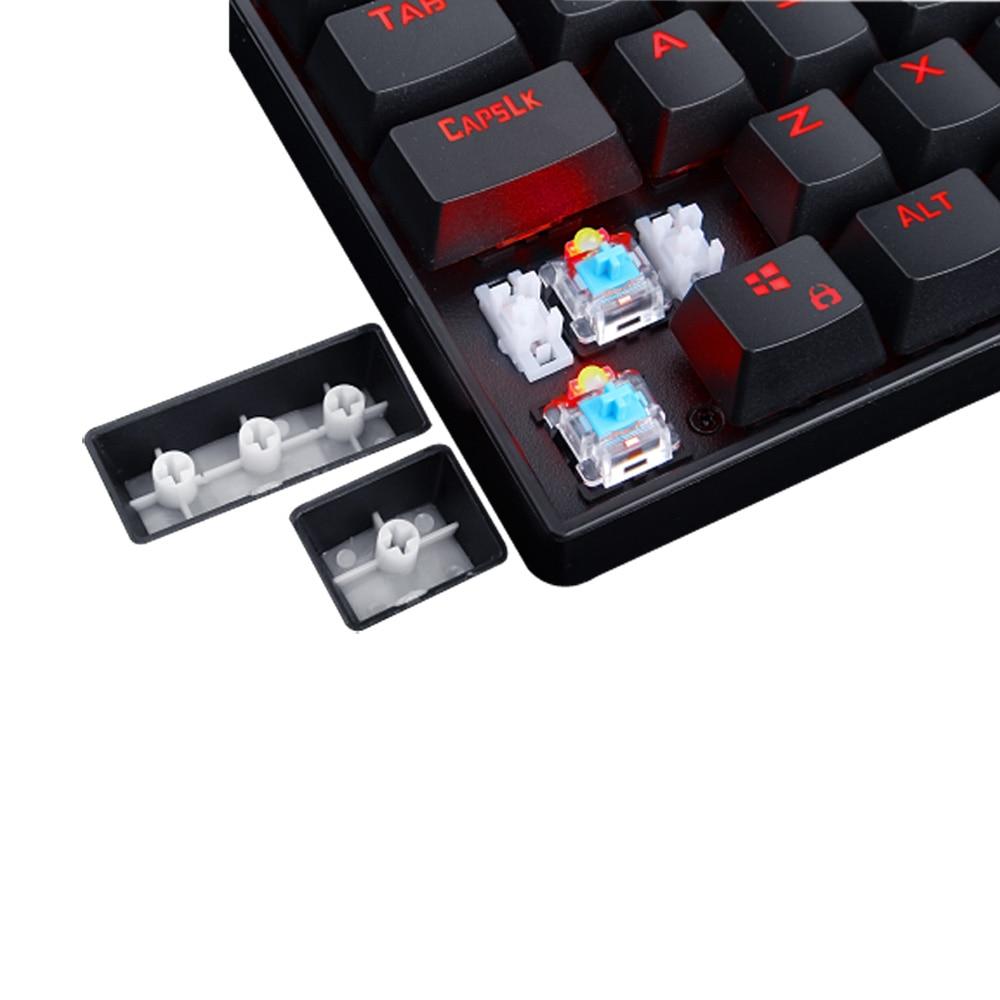Redragon Mechanical Gaming Keyboard K552 Kumara 87 Keys Red Backlit