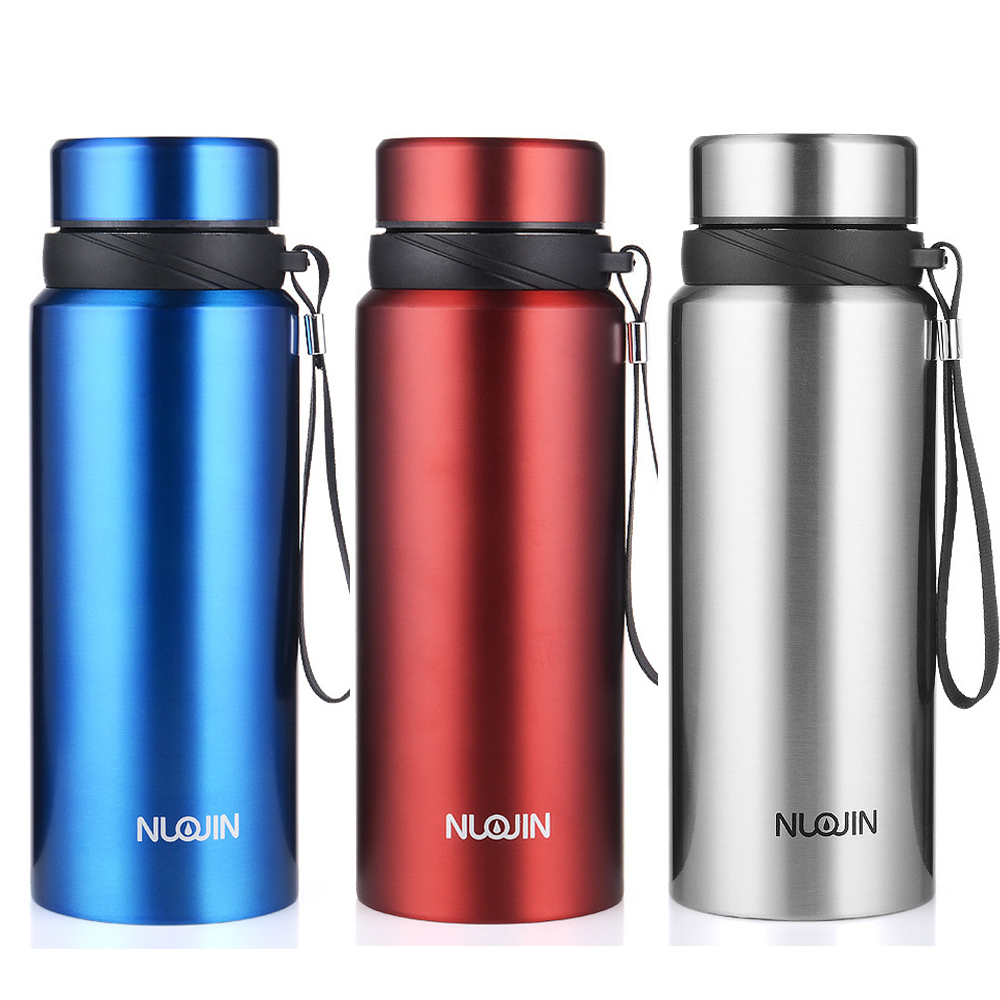 Upors 750ML Portable Double Wall Thermos Stainless Steel Insulated Water Bottle Vacuum Flask Thermoses Cup Travel Coffee Mug
