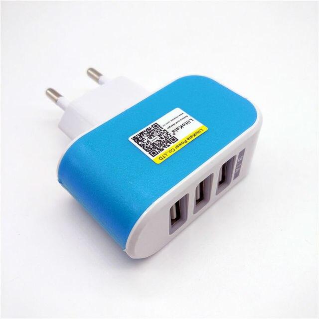 Сетевое зарядное устройство LiitoKala, с USB разъемом, 5 В, 3 А, 2 а, с вилкой Стандарта ЕС и Великобритании, для быстрой зарядки, для адаптера Lii100, Lii202