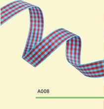 3 16 Inch 5mm tartan plaid ribbon