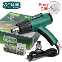 LAOA 1600W Heat Gun Adjustable Temperature Hot Air Gun Heater Oil Sludge Softening Electric Heat Gun