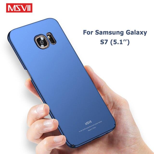 c7aa00b2cd7 MSVII Cases For Samsung Galaxy S7 Edge Case Slim Matte Coque For Samsung S  7 Case