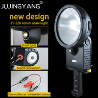 Портативный 12 V морской штатива освещения 100 W, 160 W, 220 W H3 ксеноновый прожектор для охоты, рыбалки, кемпинга,
