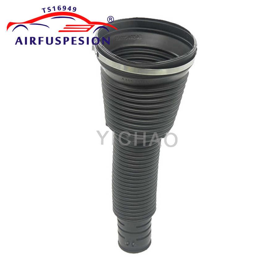 1 Pcs Belakang Karet Debu Cover Boot Cincin untuk Mercedes W220 Shock Suspensi Udara Musim Semi Perbaikan Kit 2203205013 2203202338 1999-2006