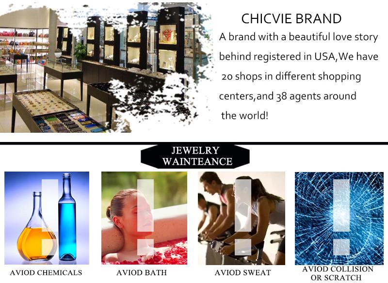 CHICVIE Black Crystal Chain Link Bracelets For Women Female Charm Custom Bracelets & Bangles DIY Silver Color Jewelry SBR160014 35