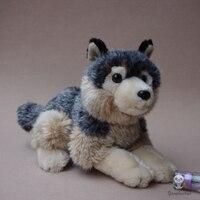 Doğum günü Hediye Simülasyon Coyote Doll Peluş Hayvanlar Oyuncak Kurt Çocuk 'S Oyuncaklar Boy