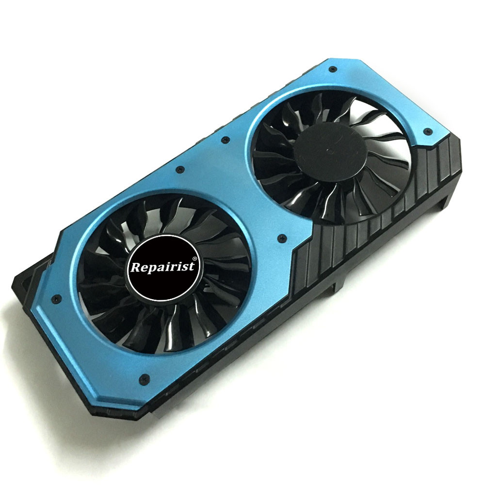 PLA08015s12HH GPU cooler GTX 950 graphics card cooling fan for MAXSUN GTX950 2g VGA Video Card Cooling 100mm fan 2 heatpipe graphics cooler for nvidia ati graphics card cooler cooling vga fan vga radiator pccooler k101d