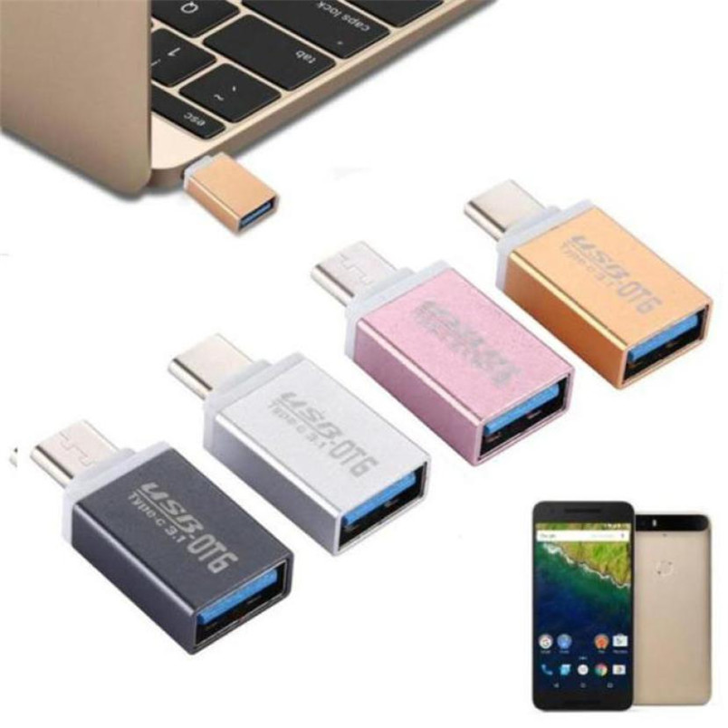Reliable USB to Type C USB 3.1 Data Adapter For Samsung Galaxy Note 7  USB Male to USB 3.1 Type-c OTG Female.