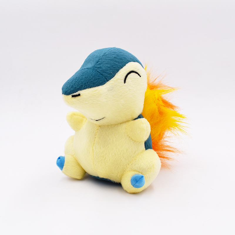 16cm Cyndaquil Plush Peluche Toys High Quality Stuffed Anime Cartoon Toys Dolls Gift For Children