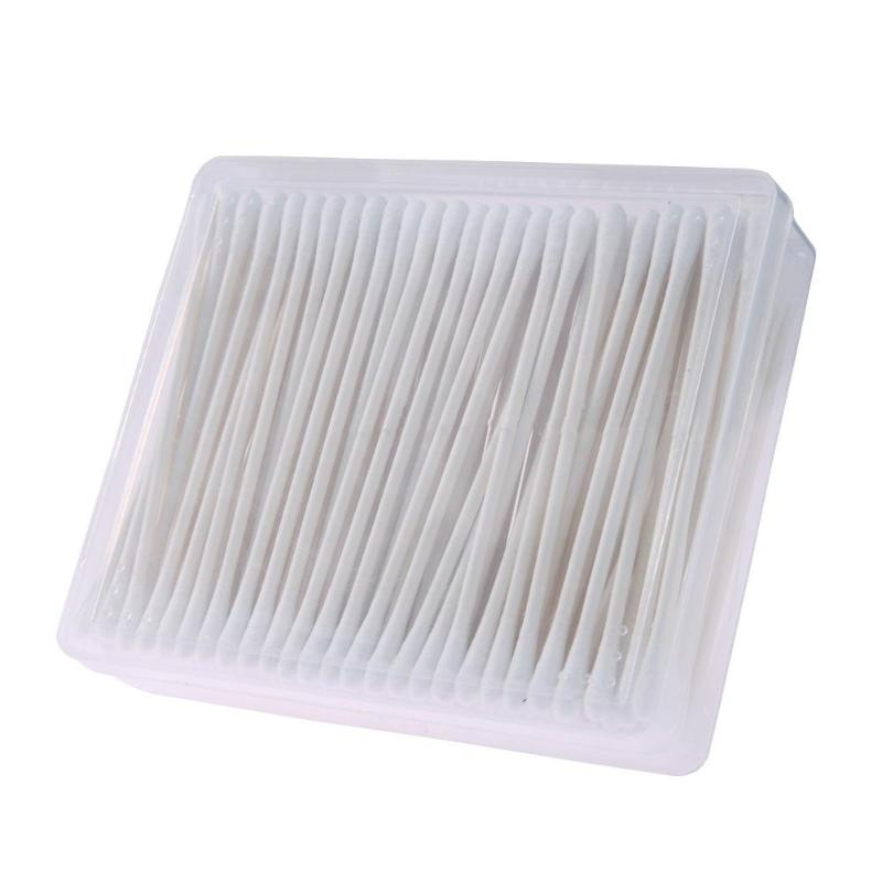 150pcs/box Double Head Cotton Swab Newborn Baby Ears Nose Disinfection Cleaning Infant Kids Health Care Tool Cotton Swabs