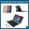 Nova Bolsa em Couro Universal 7 ~ 8 polegada 3.0 caso teclado bluetooth, teclado Sem Fio bluetooth caso para 7 ~ 8 polegada tablet pc + caneta de toque
