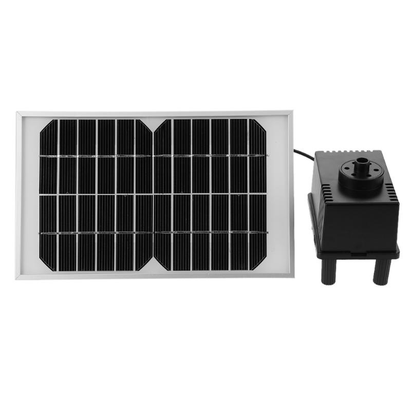 все цены на Solar Power Water Pump DC12V 5W 220L/H Water Pump Garden Landscape Plants Watering Power Fountain Pool Automatical for Fountains онлайн