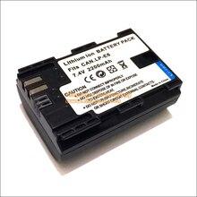 Digital de la batería lp-e6 lpe6 lp e6 para canon eos 5d 5d2 5ds r mark ii 2/III 3 6D 60D/60Da 7D 5d 7D2 7DII 70D 80D DSLR Cámaras