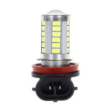 H11 H8 H9 Led High Power 5730 33 LED led car Fog lamp Bulbs white 6000K DRL Driving Light Blue Ice blue(China)