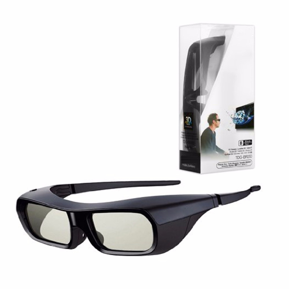 Rechargeable 3D Active Glasses for Sony TDG BR250B BRAVIA HX800 HX909 TV 2010-2012 Active sutter 3D glasses TDG-BR250/B